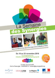 Affiche semaine synergie